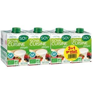 Soya Cuisine Allégée 3+1 gratuit