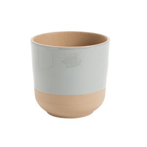 Cache-pot Sandstone Ø 14 x H 14 cm Grès 649862