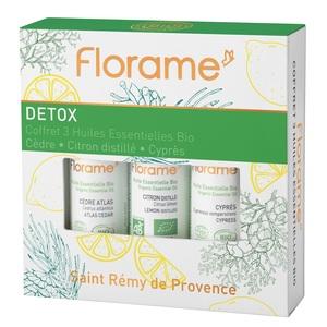 Coffret Détox flacons 3 x 10 ml vert 651086