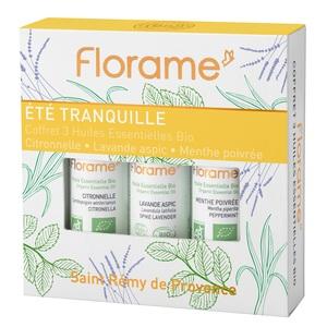 Coffret Été Tranquille flacons 3 x 10 ml jaune 651088