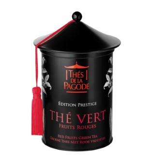 Thé vert Fruits rouges bio Edition Prestige en boite métal de 100 g 652072