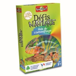 Boite de jeu Défis Nature sur le thème Les rois du camouflage 653527