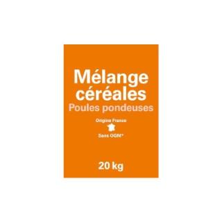 Mélange de céréales pour poules pondeuses 20 kg 654297