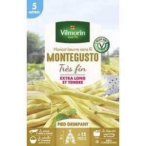 Sachet de graines de Haricot grimpant jaune Monte Gusto 654902