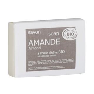 Savon bio Amande 100 g taupe 655634