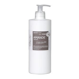 Savon liquide bio Amande 500 ml taupe 655638