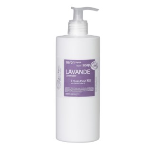 Savon liquide bio Lavande 500 ml violet 655639