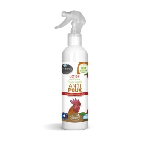 Lotion anti poux pour volailles bio en spray de 240 ml 656028