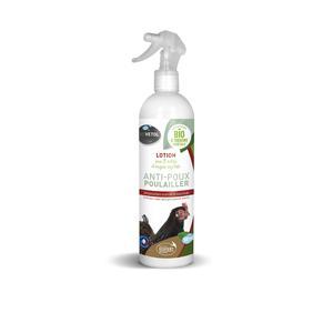 Lotion anti poux pour poulailler bio en spray de 500 ml 656030