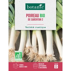 Livret Poireau de carentan 2 bio vert 657520