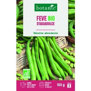 Étuis Fève d'aguadulce bio 100 g. vert 657529