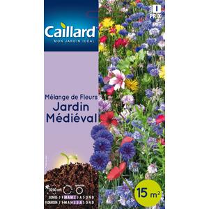 Sachet Mélange de fleurs jardin médiéval multicolore 657533