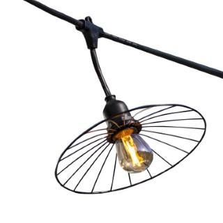 Guirlande 10 ampoules Batimex de 6 m sur secteur 658765