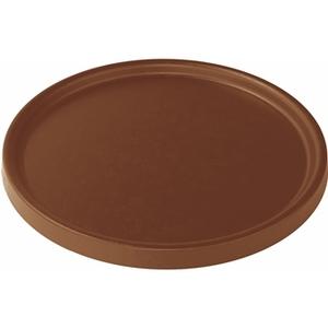 Soucoupe pour pot Element coloris marron Ø 25 x 1,6 cm 658812