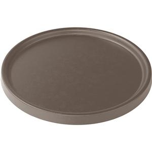 Soucoupe pour pot Element coloris beige calcaire Ø 33,5 x 1,6 cm 658814