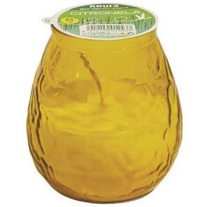 Bougie Bistrot à la citronnelle, coloris jaune 659214