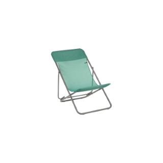 Chaise longue Maxi Transat Lafuma Batyline coloris Chlorophylle 659254