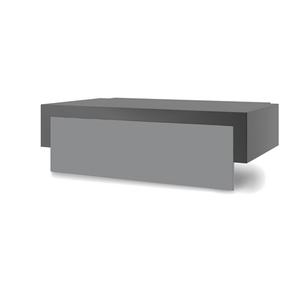 Capot plancha Forge Adour acier noir et gris clair pour chariot Premium 60 659320