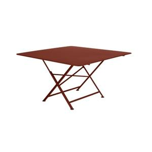 Table pliante Cargo FERMOB ocre rouge L128xl128xh74 659360