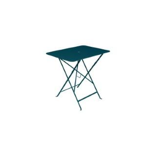 Table pliante Bistro FERMOB bleu acapulco L77xl57xh74