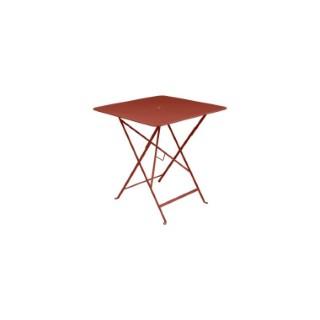 Table pliante Bistro FERMOB ocre rouge L71xl71xh74 659366