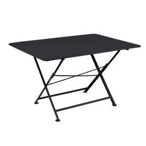 Table pliante Cargo FERMOB carbone L128xl90xh74 659384