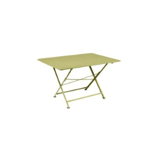 Table pliante Cargo FERMOB tilleul L128xl90xh74 659386