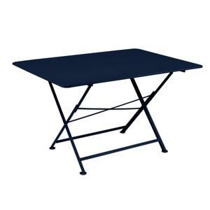Table pliante Cargo FERMOB bleu abysse L128xl90xh74 659389