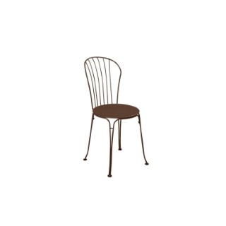 Chaise Opéra + FERMOB rouille 659397