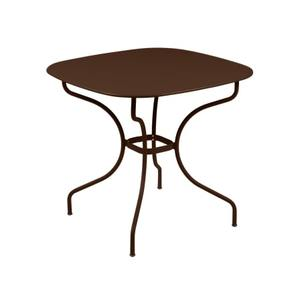Table Opéra + FERMOB rouille L82xl82xh74 659429