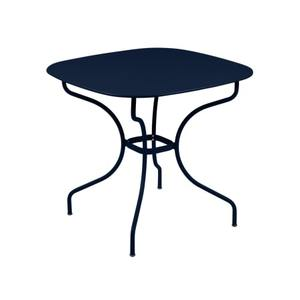 Table Opéra + FERMOB bleu abysse  L82xl82xh74 659443