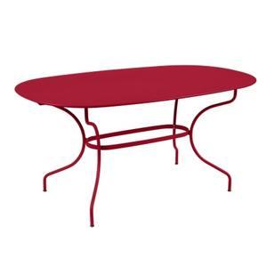 Table Opéra + FERMOB piment L160xl90xh74 659451