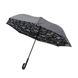 Parapluie paris gris en acier et polyester 659673