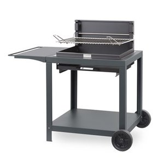 Ensemble barbecue et chariot Vintage Montory 659794