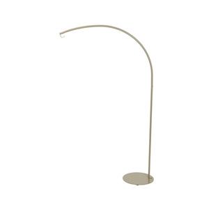 Luminaire en arc en métal taupe pour usage extérieur 659849