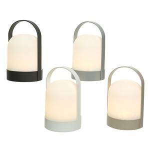 Lampe à LED à poser ou suspendre à piles Ø 13 x H 21 cm 659856