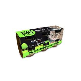Cuisinés pour chat Recettes du terroir en pack de 6 bocaux 6 x 80 g 660221