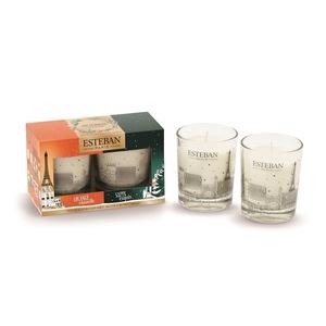 Coffret duo de mini bougies parfumées édition de Noël 2 x 70 g