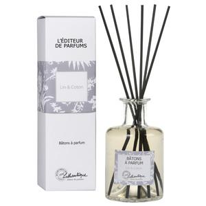 Bâtons à parfum senteur coton & lin de 200 ml
