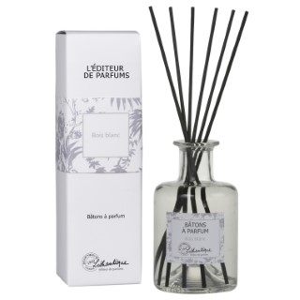 Bâtons à parfum senteur bois blanc de 200 ml