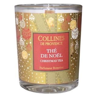Bougie parfumée senteur thé de Noël rouge de 75 g 660311