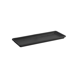 Soucoupe pour balconnière Barcelona Elho coloris noir 45 x 16 cm 660823