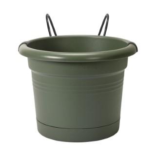 Balconnière green basics potholder Elho coloris vert Ø 27 x 19 cm 660835