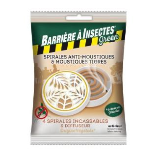 Spirales Anti-Moustiques Sachet de 4 + Diffuseur 661140