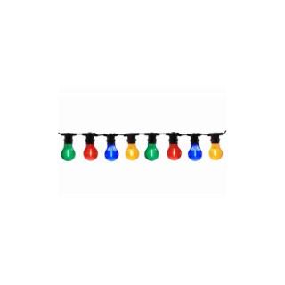 Guirlande à led 8 ampoules multicolores 661256