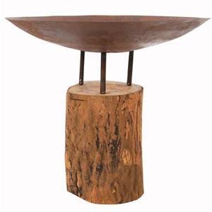 Brasero avec base en bois RedFire 661572