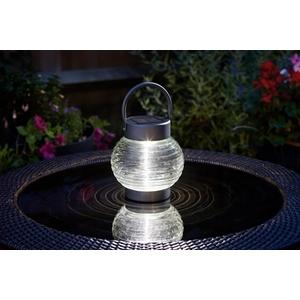 Lanterne solaire à poser Globe 365 transparent à LED 10 lumens 662026