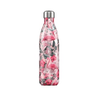 Bouteille isotherme Chilly's 500ml - Motif tropical 662201