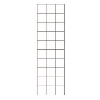 Treillis rectangle Métal L45xH150 cm 662370