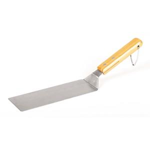 Spatule longue Somagic spéciale plancha en acier inoxydable de 44 cm 662732